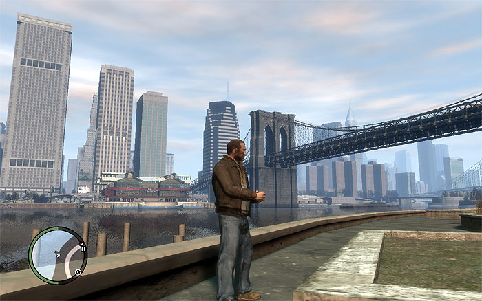 панорамный вид в компьютерной игре gta 4